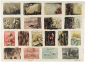 Henry MOORE. Eighteen Ideas for War Drawings. 1940
