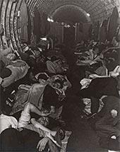 Bill BRANDT. Liverpool Street Underground Station Shelter. 1940