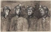Henry MOORE. Pit Boys at Pithead. 1942