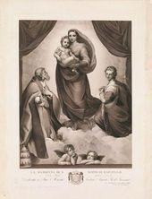 Johann Friedrich Wilhelm MÜLLER. The Sistine Madonna
