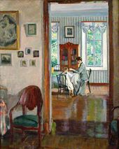 Sergei VINOGRADOV. In a House. 1910