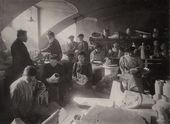 The Stroganov School. Ceramics workshop, founded in 1865. 1900s