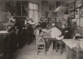 The Stroganov School. Graphic Workshop established by Sergei Golushev in 1907. c. 1908