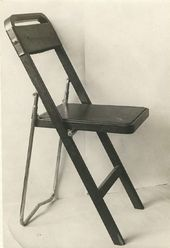 Boris ZEMLYANITSYN. A folding chair