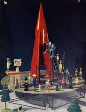 A. SHABANOV. A collective toy. Diploma project. 1960s