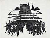Herman CHEREMUSHKIN. Revolution Square. 1960s