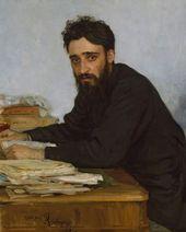 Ilia REPIN. Vsevolod Mikhailovich Garshin. 1884