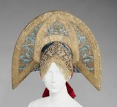 Headdress. Early 19th century
