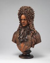 Unknown Swiss, Austrian or German sculptor. Bust of Aleksandr Danilovich Menshikov. c. 1703-1704