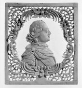 KHOLMOGORY ARTIST. Peter the Great. Late 18th-early 19th century