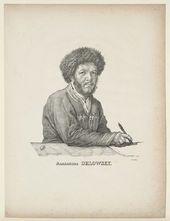 Aleksandr ORLOVSKII. Self-Portrait. 1820s