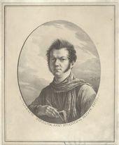 Aleksandr ORLOVSKII. Self-Portrait with an Album and Pen. 1819