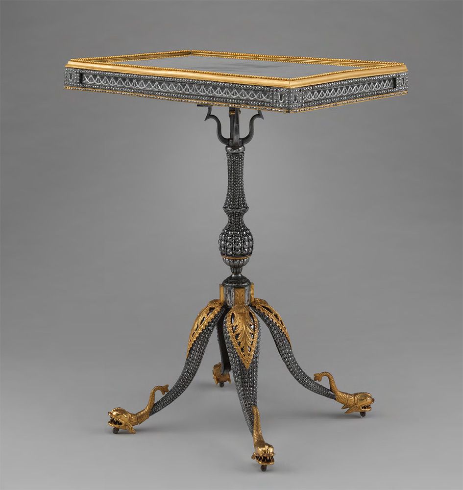 IMPERIAL ARMORY. Centre Table. c. 1780-1785