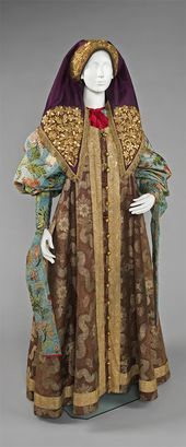 Woman's Ensemble. Late 18th-19th century