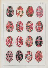 E.N. SKARZHINSKA. Museum in Lubny, Ethnographic Department. A Description of the Collection of Decorated Folk Easter Eggs, compiled by S.K. Kul'zhinskii