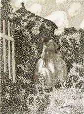 Viktor BORISOV-MUSATOV. At the pergola. Published: Vesy. 1905