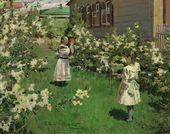 Viktor BORISOV-MUSATOV. May Flowers. 1894