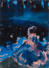 Viktor BORISOV-MUSATOV. At the Pond. A Dream. 1902