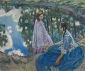 Viktor BORISOV-MUSATOV. The Pool. 1902-1903