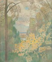 Viktor BORISOV-MUSATOV. Nutwood Bush. 1905