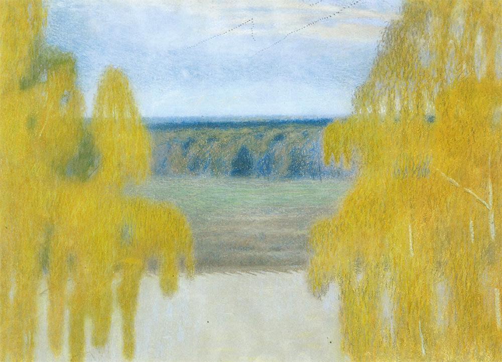 Viktor BORISOV-MUSATOV. Autumn. 1905