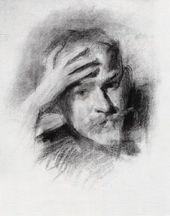 Viktor BORISOV-MUSATOV. Self-portrait. 1904-1905