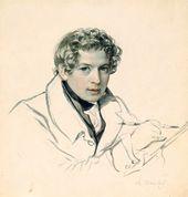 Karl BRYULLOV. Self-portrait. 1831