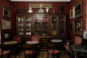 Interior of the Caffè Greco