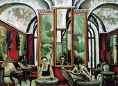 Tahir SALAKHOV. Rome. Caffè Greco. 2002