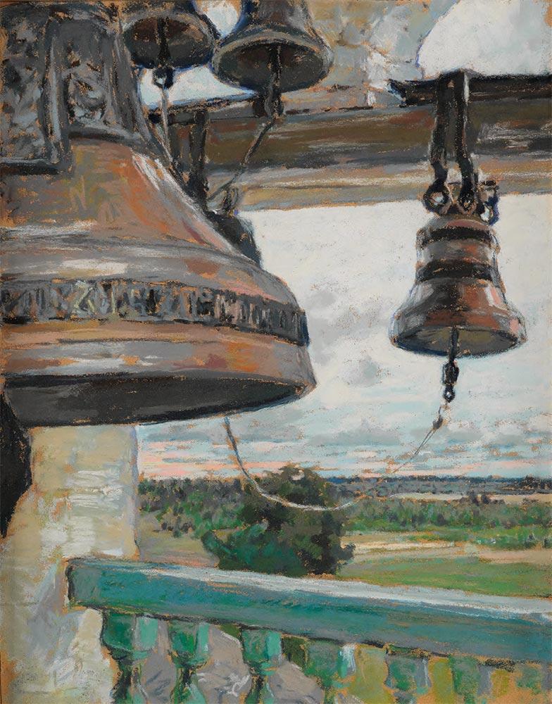 Maria YAKUNCHIKOVA. The Bells. Zvenigorod Savvino-Storozhevsky Monastery. 1891