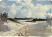 Winter Road. 1885–1889