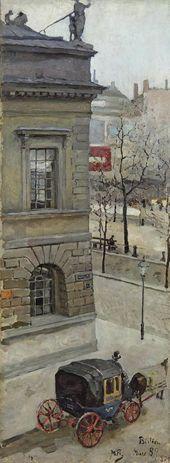 A Street in Berlin. 1889