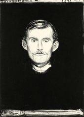 Edvard MUNCH. Self-portrait. 1895