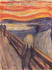 Edvard MUNCH. The Scream. 1893
