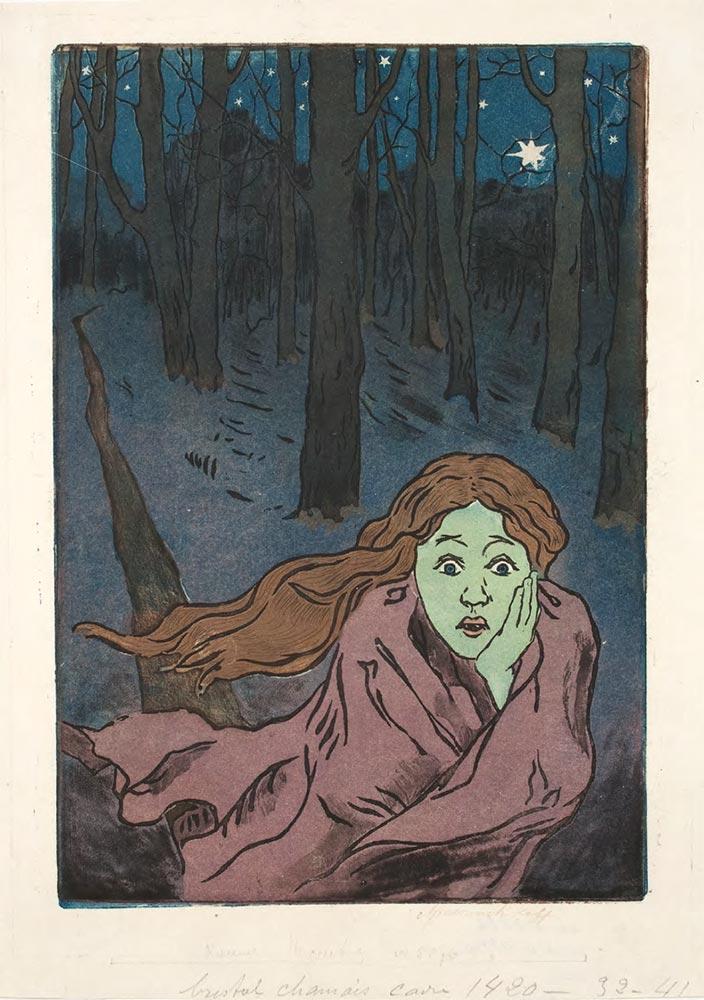 Maria YAKUNCHIKOVA. L'Effroi (Fear). 1893–1894