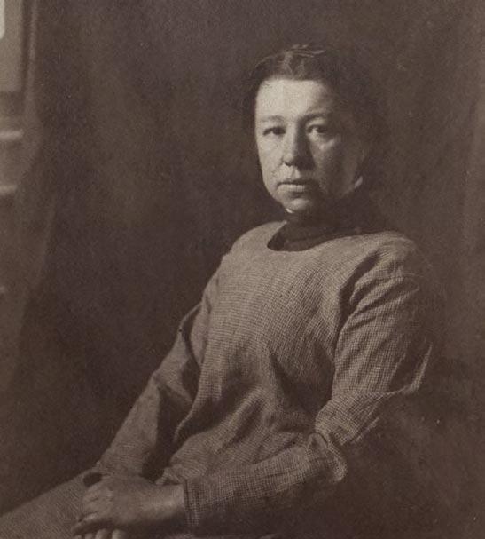Yelena Polenova. 1889