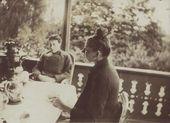 Natalia Polenova and Maria Yakunchikova. 1888. Zhukovka