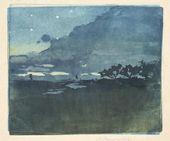 Maria YAKUNCHIKOVA. Starry Night. 1890s
