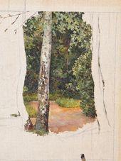 Maria YAKUNCHIKOVA. Birch Tree. 1890s