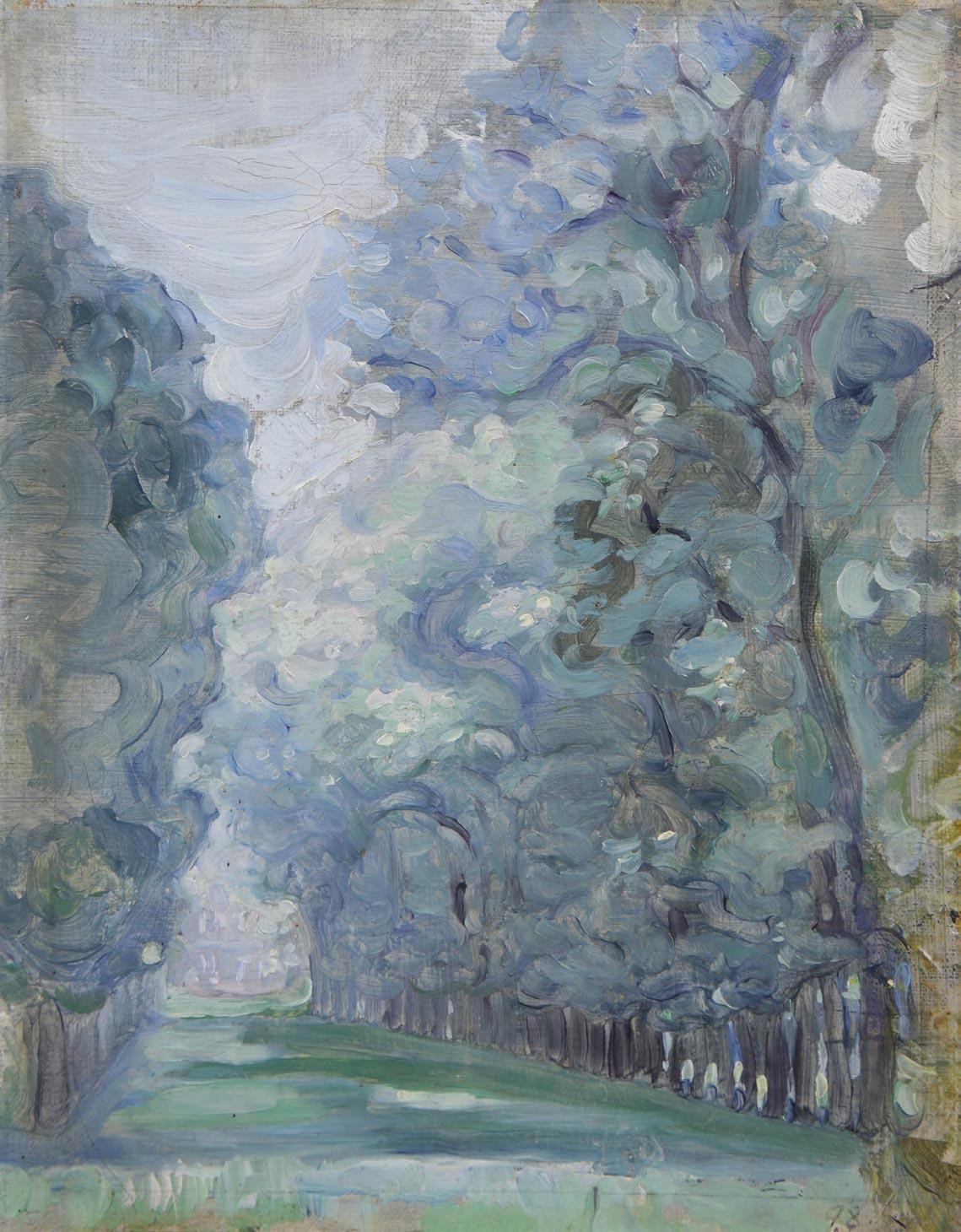Maria YAKUNCHIKOVA. Tree Lined Avenue. 1898