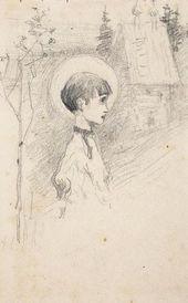 Yelena POLENOVA. Apparition. 1890s