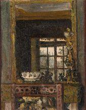 Maria YAKUNCHIKOVA. Vase by the Window. 1891