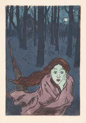 Maria YAKUNCHIKOVA. L'Effroi (Fear). 1890s