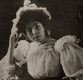 Vera Wulff. Photograph. 1890s