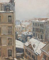 Maria YAKUNCHIKOVA-WEBER. Paris in Winter. 1893