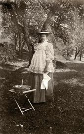 Maria Yakunchikova-Weber. Haute-Savoie, Chamonix. 1898