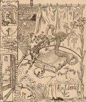 Maria YAKUNCHIKOVA-WEBER. Ex Libris of Leon Weber. 1896–1897