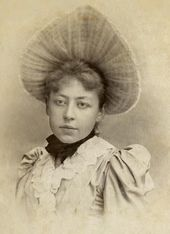 Maria Yakunchikova. Photograph. 1880s