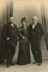 Vladimir Yakunchikov, Maria Yakunchikova and Vasily Yakunchikov [1880s]