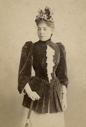 Vera Yakunchikova. Moscow. Late 1880s